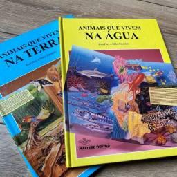 Livros Infantis - Animais que vivem na água e na terra
