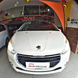 Peugeot 208 allure 1.5 /2014 completo C/ multimídia e teto panorâmico