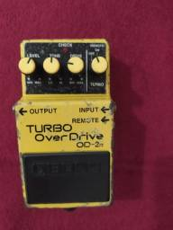 Pedal boss turbo overdrive guitarra