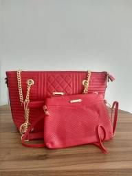 Duas Bolsas vermelha