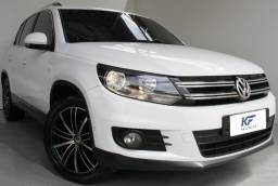 VW Tiguan 2.0 TSi Turbo Gasolina 2013 Branco Blindado Completo