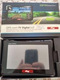 GPS com tv digital 5.0 Guia quatro rodas