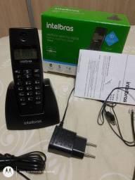Telefone sem fio Intelbras novinho