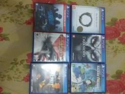 Jogos de PS4 troco ou vendo cada um por 60