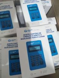 Máquina de Cartão Point Blue Crédito e Débito