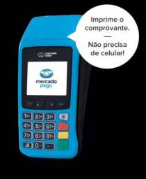 Máquina de cartões de crédito e débito