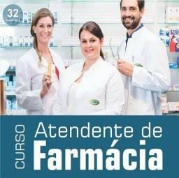 Título do anúncio: Curso atendente de farmacia