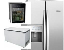 Assistência técnica 24 horas geladeiras freezers Câmara fria balcões de frios cervejeiras