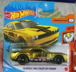 Hotwheels- '18 Dodge Challenger srt Demon Sth
