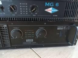 Amplificadores MK 3.0 e MG6