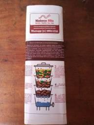 01 litro de minhocas California com 100 unidades, húmus e casulos
