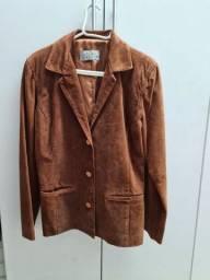 casaco de couro feminino All Leather