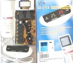 Kit Placa Universal + Controle  P/ Ar Condicionado Pisoteto