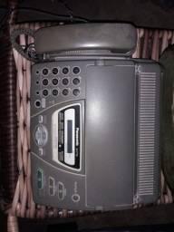 Tefone fax com identificador de chamada