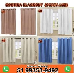 Cortina Blackout PVC Corta 100% da Luz