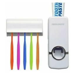 Dispenser Pasta de Dente Automático Suporte De Escovas