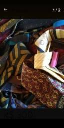 Lote com 170 gravatas importadas varias marcas