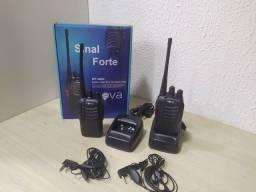 *Rádios Comunicadores HT Inova 16 canais - Preto*