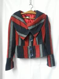 *** Casaco de lã listrado - R$ 25,00 ***