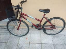 Bicicleta para mulher com cestinha para vende