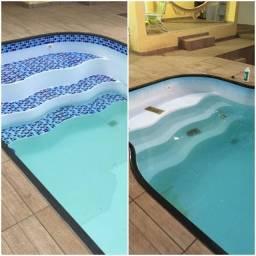 Faixa reparativa para piscinas de vinil, fibra ou alvenaria Atacado