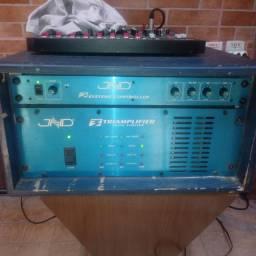 Vendo amplificador jhd triamplifier + crossover