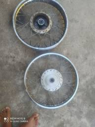 Rodas raiadas