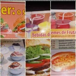 Equipamentos de Lanchonete estilo Subway + Pastelaria + PRATOS EXECUTIVOS GRELHADOS