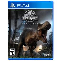 Novo Jurassic World Evolution ps4