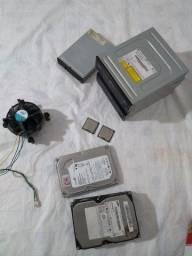 peças de PC de mesa