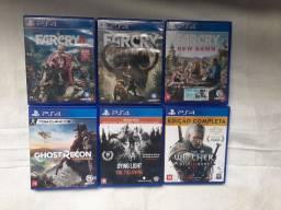 Jogos PS4 R$ 50