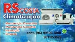 R$ 100,00  Limpeza de central de ar