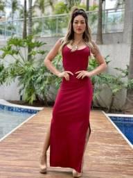 Vestido canelado poliamida 31 9  *