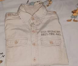 Camisa original   infantil 2 anos veste até 3 anos