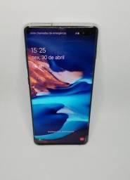 Samsung galaxy s10plus  8gb/ram 128 branco cerâmica( aparelho impecável)-somente venda