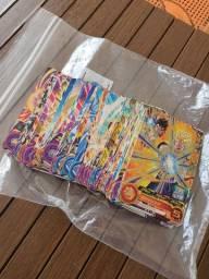 Cards dragon ball heroes japonês
