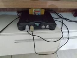 Vídeo game Nintendo 64 em prefeito Estado
