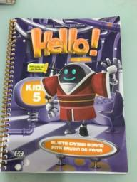 Livro inglês Hello 5 Ano (Colégio Encontro)