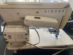 Antiga máquina singer presissar revisao