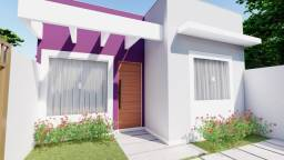 Casa linear a poucos metros da Rodovia com 2 quartos no bairro Bela Vista
