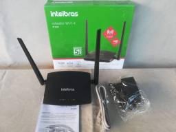 Roteador Intelbras 300 Mbps - 02 Antenas Novo C/ Garantia