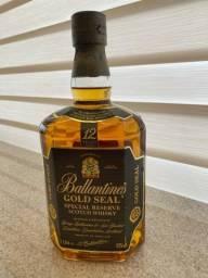 Whisky Ballantines Gold Seal, 12 anos, 1 litro, lacrado