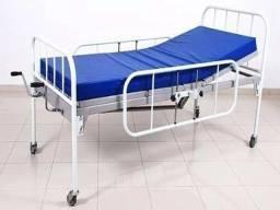 Cama hospitalar com colchap