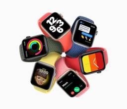Loja física. Novo apple Watch SE 44mm novos, lacrados 1 ano apple. Retira HJ