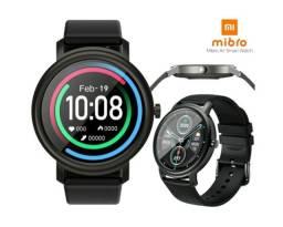 Smartwhatch Mibro Air (xiaomi) lacrada com pulseira em metal extra