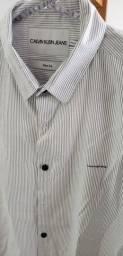 Camisa Calvin Klein listrada