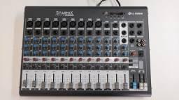 Título do anúncio: Mesa de Som Starmix LL Audio Xms1202d 12 canais bluetooth