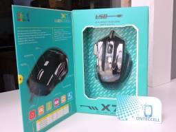Mouse Game X7 com 6 Funções RGB  (Entrega Grátis)