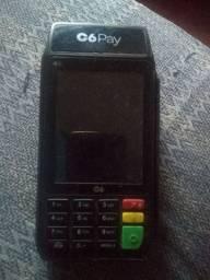 Máquina de passar cartão c6pay