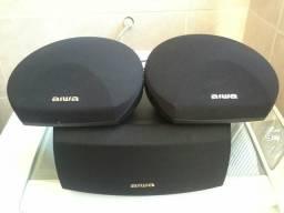 Conjunto caixas Aiwa